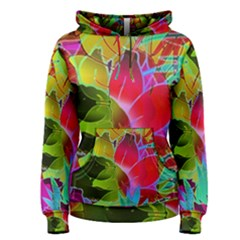 Floral Abstract 1 Women s Pullover Hoodies