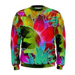 Floral Abstract 1 Men s Sweatshirts