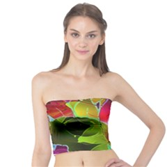 Floral Abstract 1 Women s Tube Tops