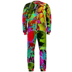 Floral Abstract 1 OnePiece Jumpsuit (Men)