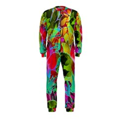 Floral Abstract 1 Onepiece Jumpsuit (kids)