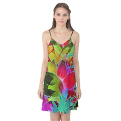 Floral Abstract 1 Camis Nightgown