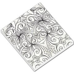 Drawing Floral Doodle 1 Small Memo Pads