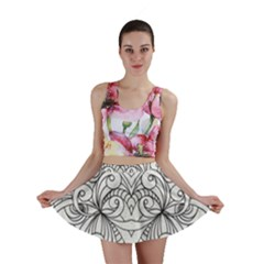 Drawing Floral Doodle 1 Mini Skirts
