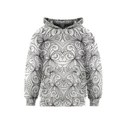 Drawing Floral Doodle 1 Kid s Pullover Hoodies