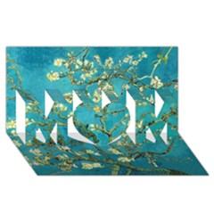 Blossoming Almond Tree MOM 3D Greeting Card (8x4)
