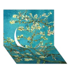 Blossoming Almond Tree Circle 3D Greeting Card (7x5)