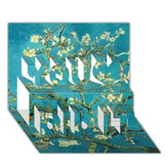 Blossoming Almond Tree You Did It 3D Greeting Card (7x5)