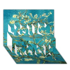 Blossoming Almond Tree You Rock 3D Greeting Card (7x5)