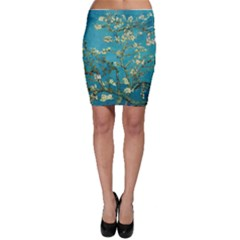 Blossoming Almond Tree Bodycon Skirts