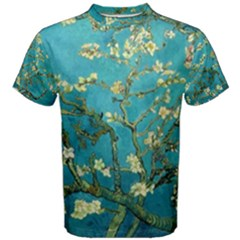 Blossoming Almond Tree Men s Cotton Tees