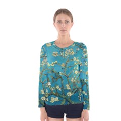 Blossoming Almond Tree Women s Long Sleeve T-shirts
