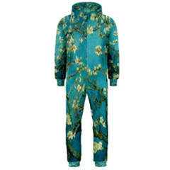 Blossoming Almond Tree Hooded Jumpsuit (Men)