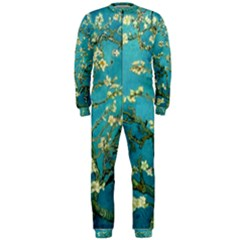Blossoming Almond Tree Onepiece Jumpsuit (men)