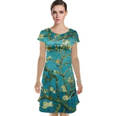 Blossoming Almond Tree Cap Sleeve Nightdresses