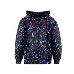 Glitter 1 Kids Zipper Hoodies