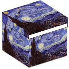 Van Gogh Starry Night Storage Stool 12