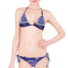 Van Gogh Starry Night Bikini Set