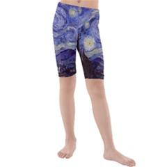 Van Gogh Starry Night Kid s Swimwear