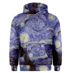 Van Gogh Starry Night Men s Pullover Hoodies