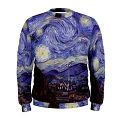 Van Gogh Starry Night Men s Sweatshirts
