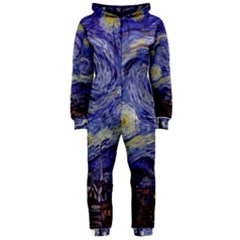 Van Gogh Starry Night Hooded Jumpsuit (Ladies)