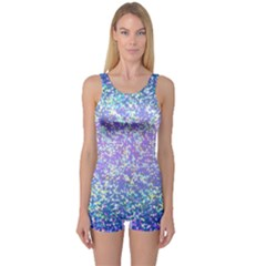 Glitter 2 Women s Boyleg One Piece Swimsuits