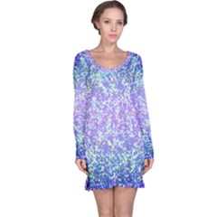 Glitter 2 Long Sleeve Nightdresses