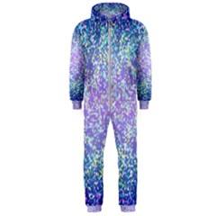 Glitter 2 Hooded Jumpsuit (Men)