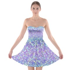 Glitter 2 Strapless Bra Top Dress