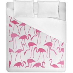 Pink Flamingos Pattern Duvet Cover Single Side (double Size)