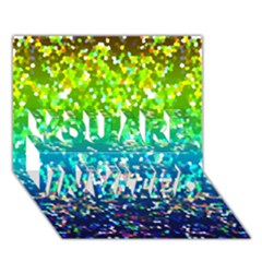Glitter 4 YOU ARE INVITED 3D Greeting Card (7x5)
