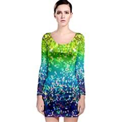 Glitter 4 Long Sleeve Bodycon Dresses