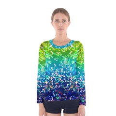 Glitter 4 Women s Long Sleeve T-shirts
