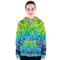 Glitter 4 Women s Zipper Hoodies