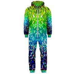 Glitter 4 Hooded Jumpsuit (Men)