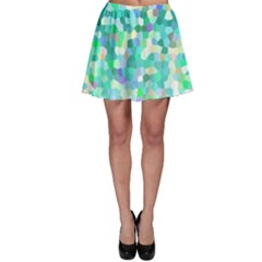Mosaic Sparkley 1 Skater Skirts
