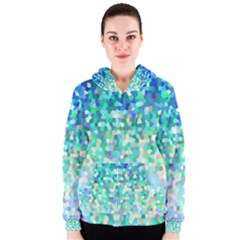 Mosaic Sparkley 1 Women s Zipper Hoodies