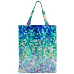 Mosaic Sparkley 1 Zipper Classic Tote Bags