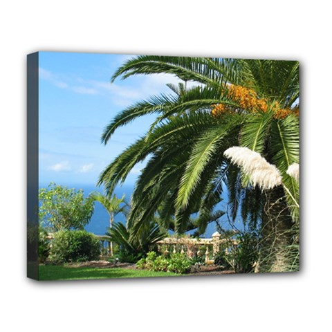 Sunny Tenerife Deluxe Canvas 20  x 16