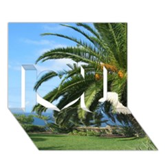 Sunny Tenerife I Love You 3d Greeting Card (7x5)
