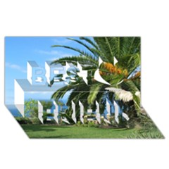 Sunny Tenerife Best Friends 3D Greeting Card (8x4)