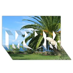 Sunny Tenerife MOM 3D Greeting Card (8x4)