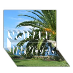 Sunny Tenerife YOU ARE INVITED 3D Greeting Card (7x5)