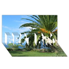 Sunny Tenerife Best Bro 3d Greeting Card (8x4)