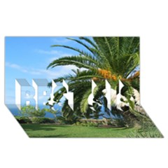 Sunny Tenerife Best Sis 3d Greeting Card (8x4)