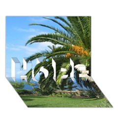 Sunny Tenerife HOPE 3D Greeting Card (7x5)