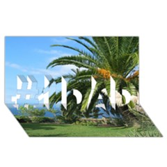 Sunny Tenerife #1 DAD 3D Greeting Card (8x4)