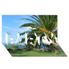 Sunny Tenerife PARTY 3D Greeting Card (8x4)