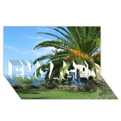 Sunny Tenerife Engaged 3d Greeting Card (8x4)